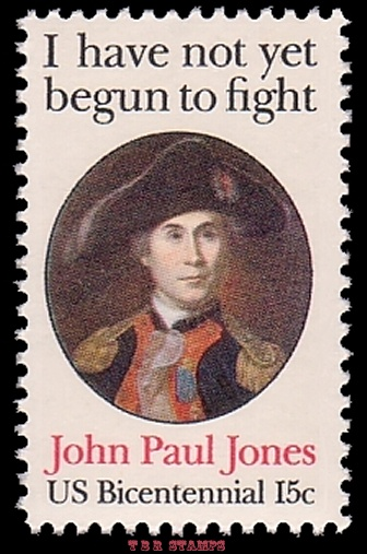 Scott 1789A John Paul Jones 15c Perforated 11 x 11 Variety Stamp MNH Buy Now