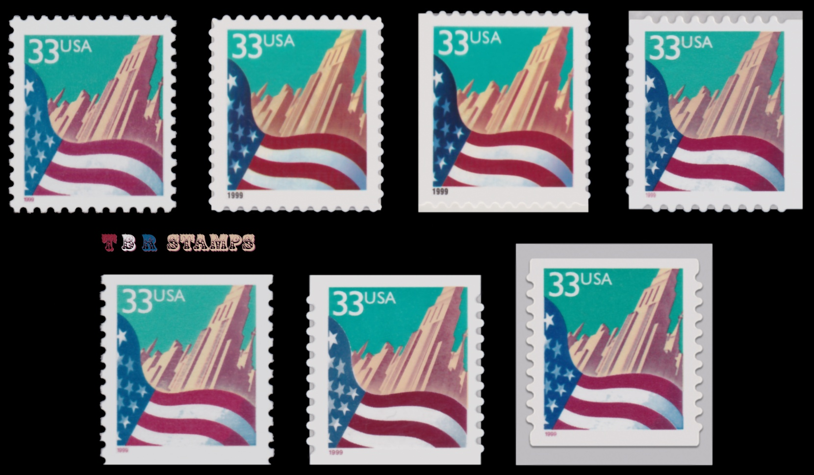 Details About 3277 3278 3278f 3279 3280 3281 3282 City Flag 33c Complete Set 7 Mnh Buy Now